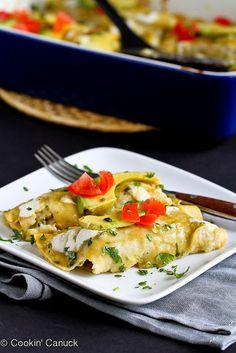 Grilled Vegetable Enchiladas