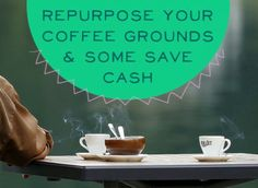 7 Ways to Repurpose Your Coffee Grounds and Save Some Cash: Safe Pest Deterrent! Coffee grounds have a strong smell that can help keep insects and even cats away from your garden and other property. Sprinkle coffee grounds around the area you want to protect. If you notice a point of entry for insects, place coffee grounds down to keep them from coming back.