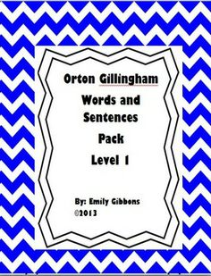 Orton Gillingham Levels as well as orton gillingham phonics worksheets