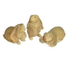 3 Resin Bunnies Garden Rabbits (Kitchen) http://www.amazon.com/dp/B004S83MEG/?tag=http://www.amazon.com/gp/product/B0024KRA5C/ref=as_li_qf_sp_asin_il_tl?ie=UTF8=mnnean-20 B004S83MEG