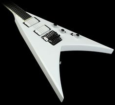 Jackson Custom Shop KV2 King V Electric Guitar Whiteout