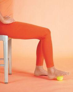 Feet: Tennis Ball Massage