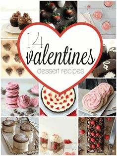 14 Valentine Desserts - Easy To Make Family Recipes | One Sweet Appetite