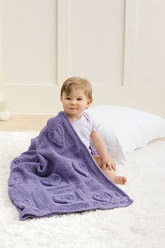 Baby Blankets Made with the Knook Book - Leisure Arts