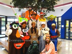 Group Toy Story Halloween Costumes… Coolest Halloween Costume Contest