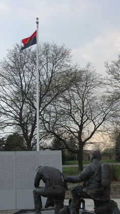 Barb Piggott submitted two photos of the memorial for fallen heroes in Pontiac shot on March 22, 2012.