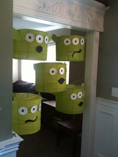 Toy story party ideas on pinterest toy story party toy for Alien decoration