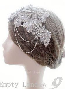 free shipping Original design women fashion Handmade bride hair bands accessories crystal flowers headdress  birthday gift photograph props