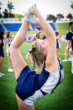 cheer scorpion stunt field cheerleading m.10.59 moved from @Kythoni Cheerleading: Stunts: Bow & Arrow, Heel Stretch, Scorpion & Scale  board http://www.pinterest.com/kythoni/cheerleading-stunts-bow-arrow-heel-stretch-scorpio/  #KyFun