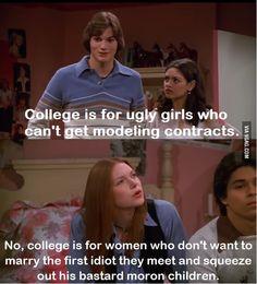 Women, college, and early motherhood.