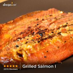 """Grilled Salmon I 