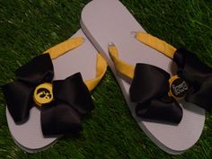 HAWKEYES Flip Flops  Child & Adult Sizes FREE by 1YOUniqueboutique, $19.99
