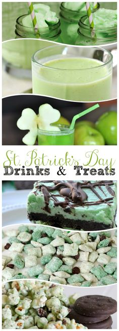 St. Patrick's Day Drinks and Treats