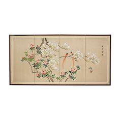 Love Birds Wall Art - OrientalFurniture.com
