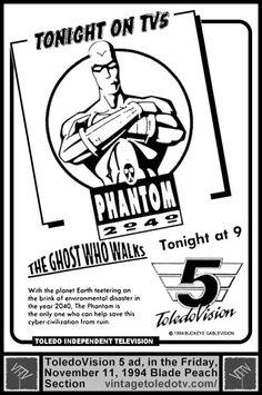 "Eerie Street Theatre ""Phantom 2040: The Ghost Who Walks"" (Fri 11/11/94)"
