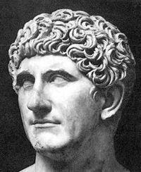 "Marcus Antonius ""Mark Antony"" - 48th great grandfather board cover"