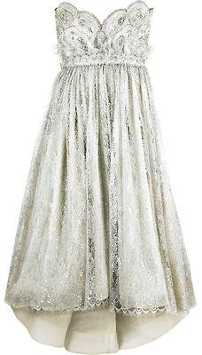 classic....rehearsal/reception dress