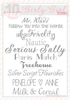 40 Best Wedding Fonts