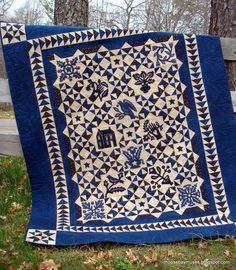 Simply Red pattern by Kathy Schmitz - love the alternate pattern that emerges blue