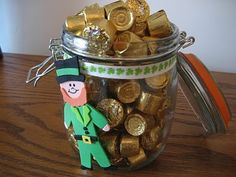 pot of gold ~ I think I'll make this with the kids!