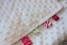 Baby/Toddler/Child Blanket Ribbon Minky Lovey  by APaisleyPeony, $24.00