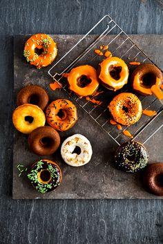@cup4cup Chocolate Glazed Halloween Doughnuts