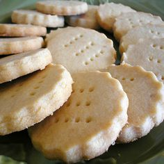 Scottish shortbread with tea, anyone? My favorite is Walkers Scottie shortbread.