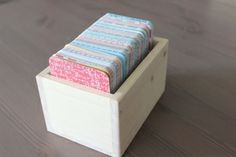 3x4 Storage Box for Project Life Cards
