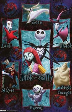 Nightmare before christmas on Pinterest | Nightmare Before Christmas ...