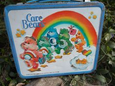 Vintage Metal Care Bears Lunchbox by energyforthesoul on Etsy, $22.00