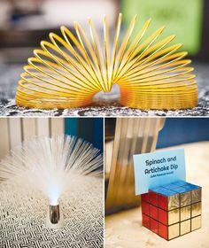 rubiks cube sign holder