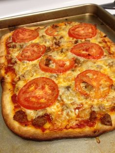 sausages tomato pizza roast garlic food pizzas star roasted garlic ...