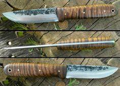 ML Straight Back Kephart bushcrafting knife