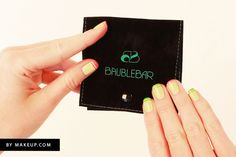 double french nails tutorial