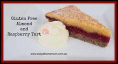 Gluten Free Almond and Raspberry Tart | Stay at Home Mum