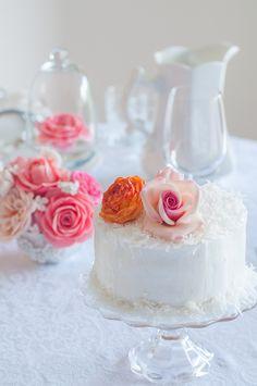 Lulus Sweet Secrets: Pineapple and Coconut Cake