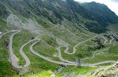 Transfagarasan highway, Transylvania Romania - Brasov Romania
