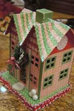 Christmas House by @craftyagentmom