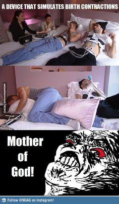 Birth Contraction Simulator. Every guy needs this. BAHAHAHAHAHAHA!