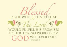 God always keeps his promises and does not lie!