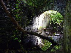 TALYSARN HALL or PLAS DOROTHEA, Nantlle Valley, Caernarvonshire, Wales. Outer gate entrance.