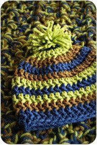 Crochet Hat Size Chart.