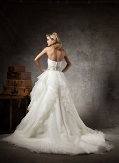 Justin Alexander 2012 Wedding Dress