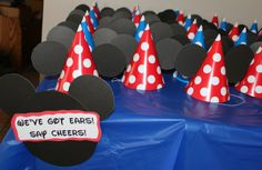 Mickey Mouse Clubhouse theme first birthday party