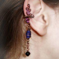 bronze ear cuffs