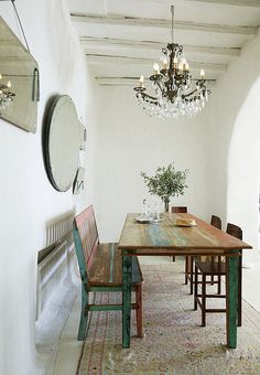 dining rooms, interior, kitchen tables, rustic table, dining room tables
