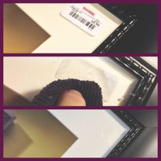 #TuesdayTip With just water, a Heavy Duty Chiffonnette can remove even the stickiest, most annoying stickers off of picture frames (and lots of other stuff). Ta-da!