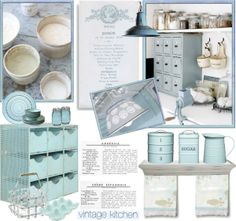 """French Vintage Kitchen"" by anna-anica on Polyvore"