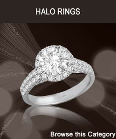 Engagement Rings - Halo Rings