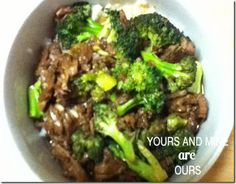 Crockpot Wednesdays – Slow Cooker Beef & Broccoli
